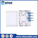 4 mini rectángulo terminal óptico de fibra de las memorias FTTH, rectángulo óptico del fin de fibra del diseño de la Doble-Capa