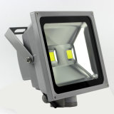 Lâmpada exterior Holofote Solar de LED de alumínio