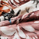 2018 100% telas de la impresión del poliester para la almohadilla