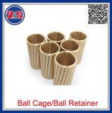Simple rangée en laiton cages de roulement à billes à gorge profonde moule