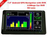 """5.0 populares"""" Veículo Veículo automóvel Marine navegação GPS com mapa do Google Android, transmissor FM, entrada AV-in para o estacionamento do sistema do Navegador GPS da câmara, dispositivo de rastreamento de TMC"""