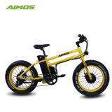 Front+後部350W Bafangモーター脂肪質のタイヤの電気自転車