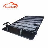 Potere che ricopre le cremagliere di tetto d'acciaio nere dell'elemento portante di bagagli
