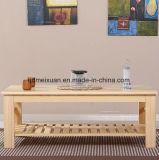 固体木の食事の机の居間の家具(M-X2861)