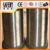 alambre de alta resistencia del resorte del acero inoxidable de la fuerza de 0.5m m