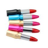 소녀 섬광 USB Drivecustom 로고를 위한 형식 금속 립스틱 선물