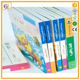 Alta stampa del libro di bambini della scheda di Qaulity (OEM-GL002)