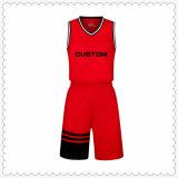 最新の黒いバスケットボールジャージー