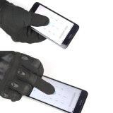 Invierno de fibra de carbono con dedos Guantes Guantes de pantalla táctil de exterior