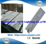 Yaye 18 tutti in una lampada solare della strada di /60W LED dell'indicatore luminoso di via di 60W Soalr LED con 3 anni di garanzia