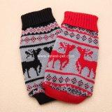 Hundeproduktweihnachtenweiche Haustier-Kleidungs-Hundemehrfarbenstrickjacke