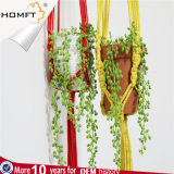 Rope Handmade Party Deco Flower Ceramic Pot Hanging