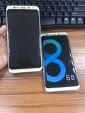 Teléfono inteligente OEM fábrica S8+ de telefonia celular Movil 3G WCDMA