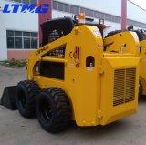 Китай колесный погрузчик 500 кг 700 кг 850 кг мини погрузчик с бортовым поворотом