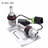 S2 9004 9007本の穂軸LED車のヘッドライト