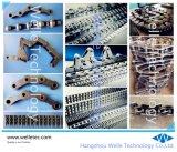 La cadena de la parte superior plana de acero, curvada, Personalizada
