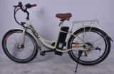 E 숙녀를 위한 Bike 강철 프레임 통근자 Ebikes에서 26