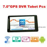 Горячий PC таблетки сбывания 7.0inch Android построенный в навигаторе GPS, черном ящике автомобиля, External 3G; Bluetooth, паркуя камера