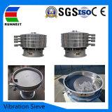 Bom preço peneira vibratória rotativo de alta eficiência de separação entrar impurezas