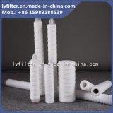 40 cartuccia di filtro da bobina della stringa del filato di pollice pp per il trattamento di acque luride
