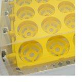 Huevo de gallina incubadora automática de 24 incubadoras de aves de corral de laboratorio