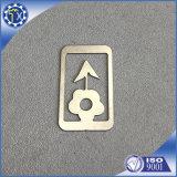 ロゴの本のためのカスタムPromotinalのギフトの銀の上塗を施してある金属の鋼鉄ブックマーク
