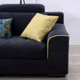 ブラウンファブリックホームホテルの居間の現代ソファーの家具Fb1146