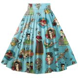 Los fabricantes de China mujer 50's Dance Plus Size ropa