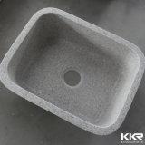 Kingkonreeの人工的な石造りの台所の流しの固体表面のUndermountの台所の流し