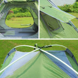 大きいスペース3-4人の自動キャンプテント(二重Rainproofタイプ)