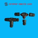 Connettore impermeabile largo di Pin LED T di varietà PVC/Nylon/Metal 3