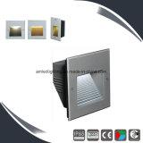 La pared al aire libre Lamp&Light, paso de progresión de SMD3020X20 LED de la escalera enciende el LED