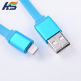 Material TPE Apple Cable USB Cable de fideos Cable de carga de datos