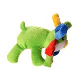 고품질 채워진 견면 벨벳 찍찍하는 소리 애완 동물 장난감