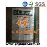 Excelente calidad Jumbo rollos de papel térmico de resistencia con grasa.