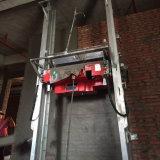 Representación auto que enyesa máquina/el mortero de la representación de la máquina/de la pared que enyesa la máquina