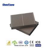 En suspens Le pontage extérieur Composite bois plastique Carte WPC solides des revêtements de sol