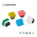Interruttore quadrato senza piombo di tatto di Tlb 50mA 12VDC 15*15 LED