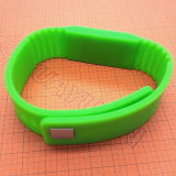 S 2K RFID 실리콘 팔찌 플러스 13.56MHz ISO1443A HF MIFARE