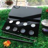 Leere kosmetische Organisator-Bildschirmanzeige-Verfassungs-Augenschminke-Acrylsauerpalette