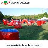 6 équipe les soutes gonflables de Paintball