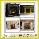 Indoor Decoration를 위한 White/Black/Red/Green/Yellow/Purple/Beige Marble/Stone/Limestone/Travertine/Sandstone/Granite/Onyx/Fireplace Mantel