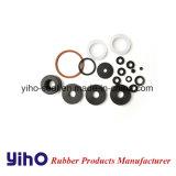O EPDM/SBR/NBR/FKM (Viton) /junta plana de borracha de silicone