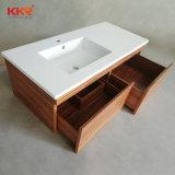 Kkr acrílico moderna casa de banho Superfície sólida MDF de cortesia