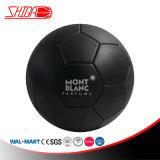 Mont Blancマット黒いカラーギフトのサッカーボール