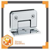正方形の斜角90degreeステンレス鋼の単一の側面の浴室のドアヒンジ