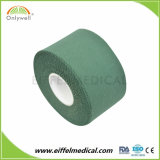 Tissu de coton Ce/ISO/FDA poreux Sports rigide Bande adhésive