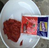 Venta de excelente calidad, caliente la salsa de tomate en sobres