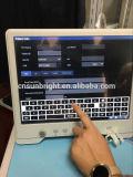 Ultimo ultrasuono tenuto in mano astuto del ridurre in pani/grande macchina di Ultraound dello schermo di tocco/scanner di alta risoluzione di ultrasuono con gli elementi 96