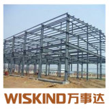 Struttura d'acciaio preverniciata della costruzione d'acciaio del Corridoio del blocco per grafici d'acciaio dell'Indicatore-Acciaio H